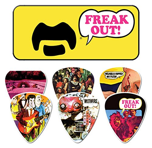 Frank Zappa Yellow Guitar Picks
