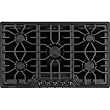 "Appliances : Frigidaire FGGC3645QB 36"" Gas Cooktop, Black"