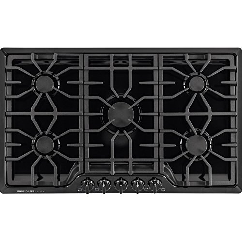 Frigidaire FGGC3645QB – Frigidaire Gallery 36 Gas Cooktop in Black