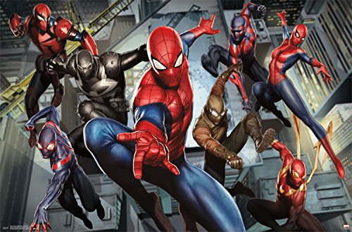 Trends International Ultimate Spider-Man Characters Wall Poster 22.375' x 34'