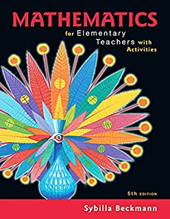 Amazon mathematics for elementary teachers with activities mathematics for elementary teachers with activities plus mylab math title specific access card fandeluxe Image collections
