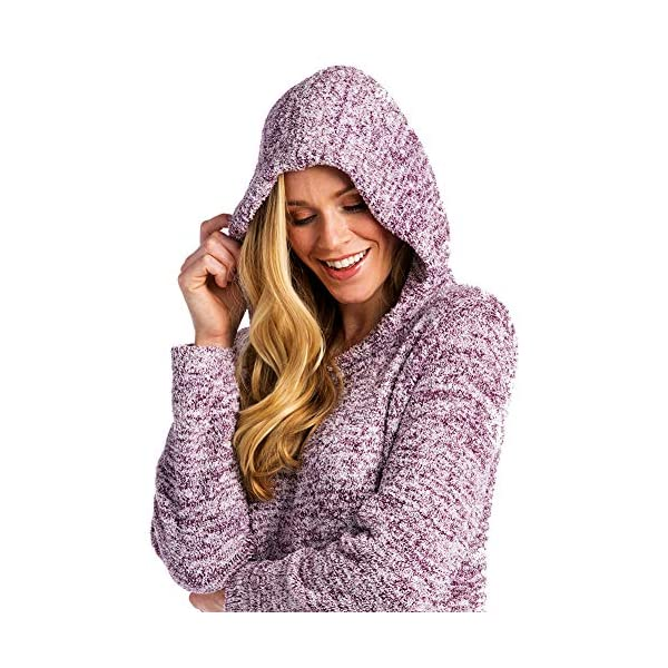 Softies Women's Ultra Soft Marshmallow Hooded Lounger, 2019 Oprah's Favorite Things