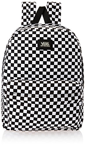 b2bc1741aeadbb Vans Black and White Check Casual Backpack (UN-0ONIHU0)  Amazon.in  Bags