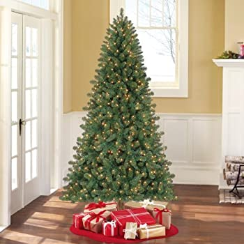 Holiday Time Pre-Lit 7' Duncan Fir Artificial Christmas Tree