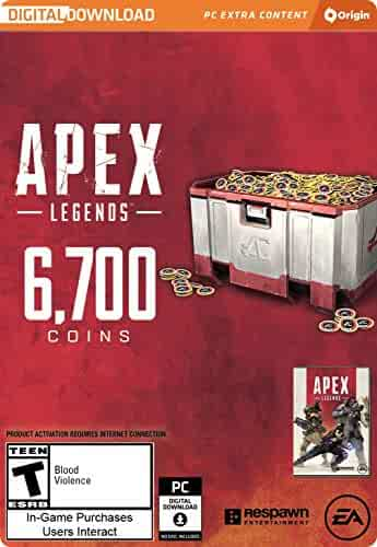 Apex Legends - 6,700 Apex Coins [Online Game Code]
