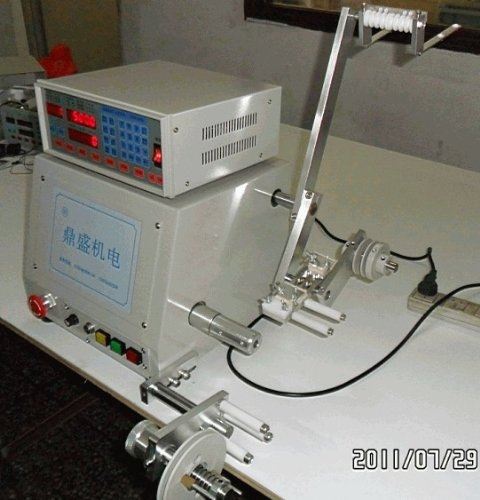 New Computer CNC Automatic Coil Winder Winding Machine for 0.04-1.2mm wire