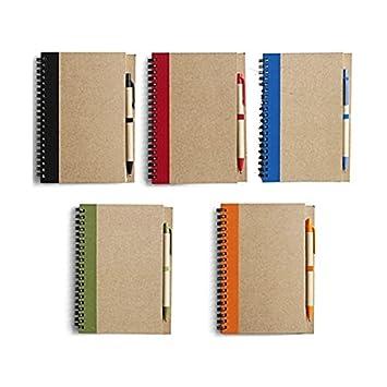 El Simon 2389 portátil, mini diario, agenda, Natural de ...