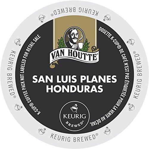 (24 Count - Van Houtte Honduras Extra Bold Coffee K Cup For Keurig K-Cup Brewers Velvety & Woodsy flavor (Net Wt. 10.16 oz))