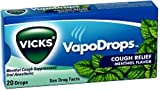 Vicks VapoDrops Cough Relief Drops Menthol Flavor 20 Each [case of 20] (Pack of 9)