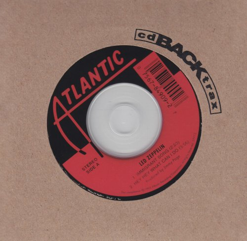 CD : Led Zeppelin - Immigrant Song / Hey Hey What Can I Do (CD Single)