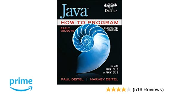 java how to program early objects 11th edition pdf