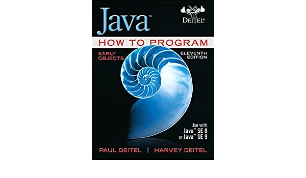 Java How To Program Early Objects Student Value Edition Plus Mylab