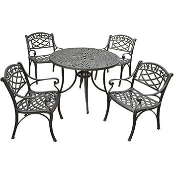 Amazon.com : Crosley Furniture KOD6003BK Sedona 5-Piece ...