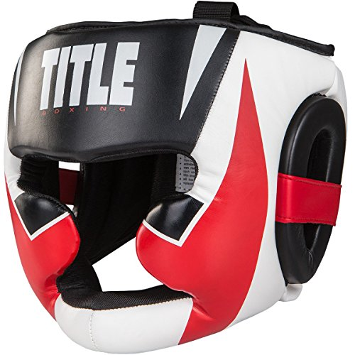 TITLE Boxing Command Full Face Training Headgear (Large)