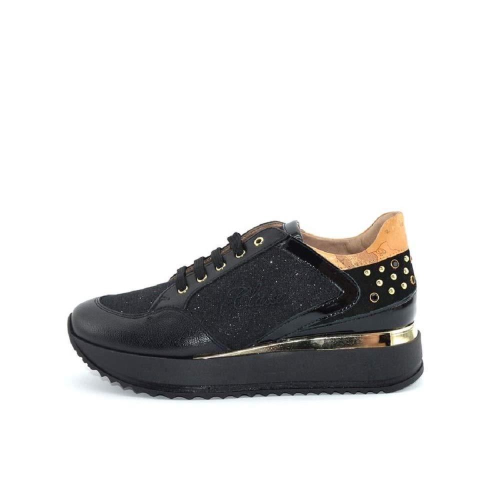 e49146eb5ec1 Alviero Martini 1 Classe Sneakers Girl Noir 31
