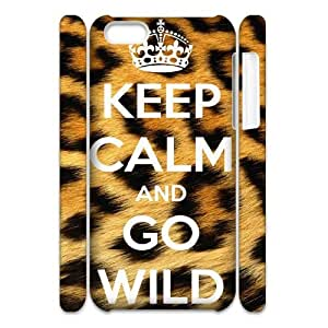 YAYADE Phone Case Of KEEP CALM Series popular Cool Painting for iPhone 5C