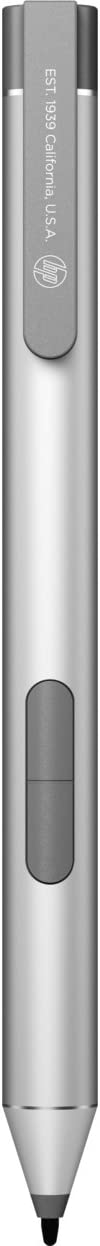 HP 1FH00AA Active Pen - Digital Pen - 2 Buttons - Natural Silver - for Elite x2 1012 G2, Pro x2 612 G2, ProBook x360 11 G1