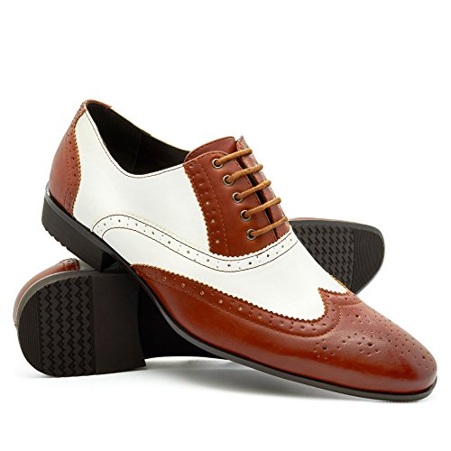 SchnürHalbschuhe Footwear London Braun Footwear London Herren IYv4I6x