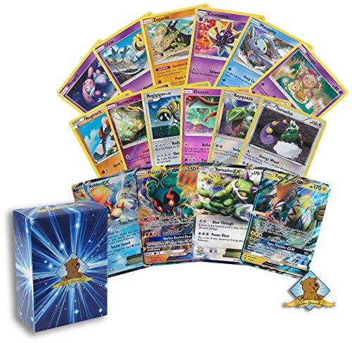 (Pokemon Lot of All Legendary Pokemon Cards - 20 Cards Rares - Uncommon - Holos - Foils - GX - EX! Includes Golden Groundhog Box! )