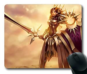 Leona League of Legends Game003 Rectangle Mouse Pad by eeMuse