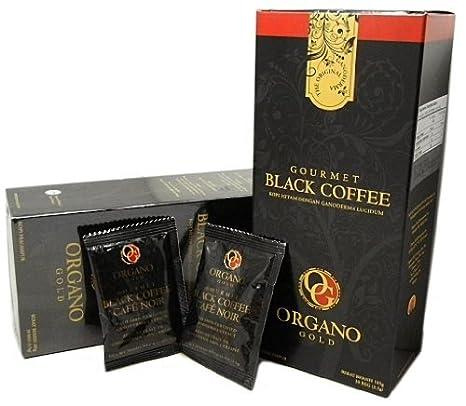 2 cajas Organo Gold Gourmet Cafe noir, Negro Café 100% certificado Ganoderma extracto sellado
