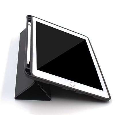 """iPad Pro 10,5""""Funda de piel con estuche para lápiz Apple. Funda magnética protectora ultraligera con soporte y función de encendido y apagado. Elegante funda con soporte para el iPad Pro 10,5&q"""