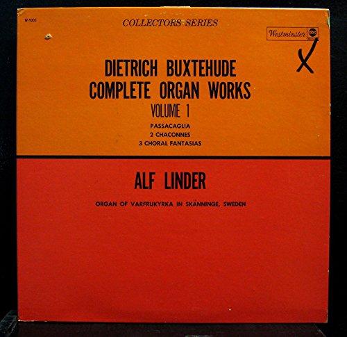 Price comparison product image ALF LINDER BUXTEHUDE ORGAN WORKS VOL 1 vinyl record