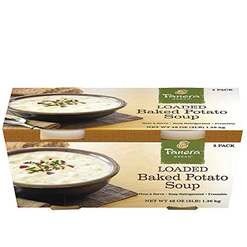 Panera Bread Loaded Baked Potato Soup (24 oz. tubs, 2 pk.) -