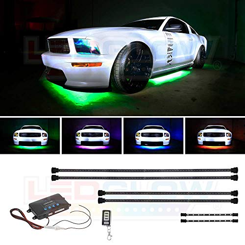 Million Color Wireless Led Underbody Lighting Kit in US - 4