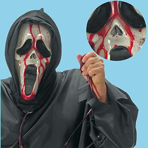 Maschera Scream con Sangue