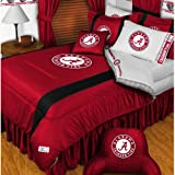 NCAA Alabama Crimson Tide King Comforter Pillowcases Set College Football Team Logo Bed