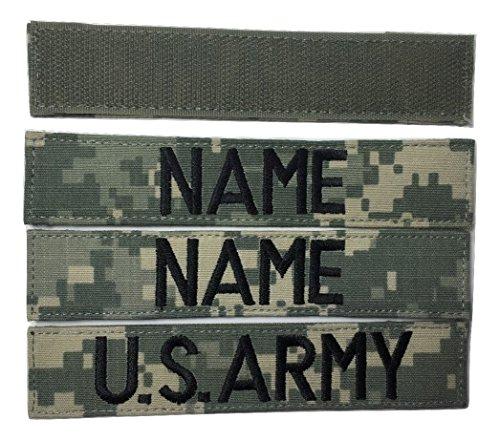 3 piece ACU Name Tape
