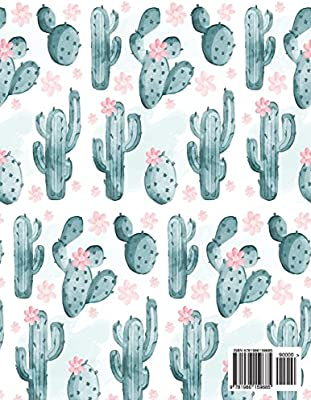 Notebook Notebook Cute Cactus Notebook 2 In 1 Composition Notebook Blank Paper Ruled Unruled Unlined Blank Notebook Diary 110 Pages 8 5 X 11 Notebook Lined Blank No Lined Amazon Co Uk Max Trevor 9781986159685 Books