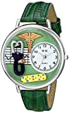 Whimsical Watches Unisex US0620056 Nurse 2 Analog Display Japanese Quartz Green Watch