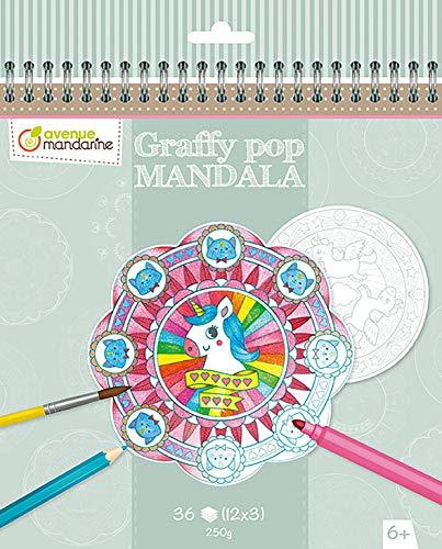 (Avenue Mandarine Graffy Pop Mandala Magic Block, gy071°C)