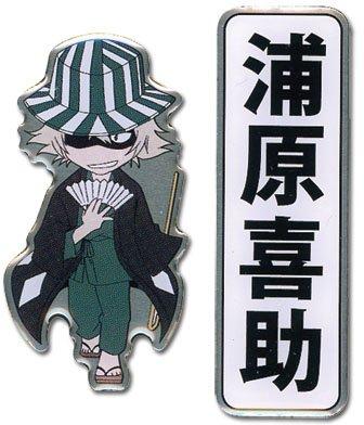 Bleach: Urahara Kisuke and Kanji Pins