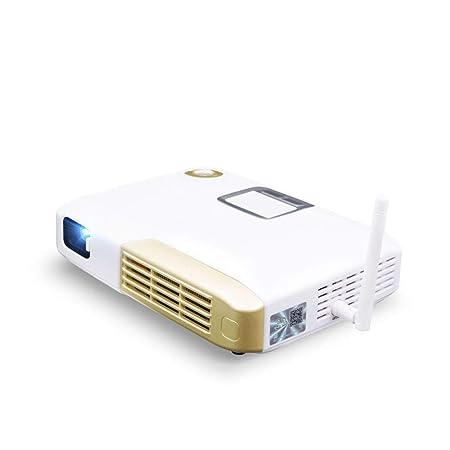 WBGSNHHH 4000 Lumen Mini Proyector, Proyector De Video con Bolsa ...