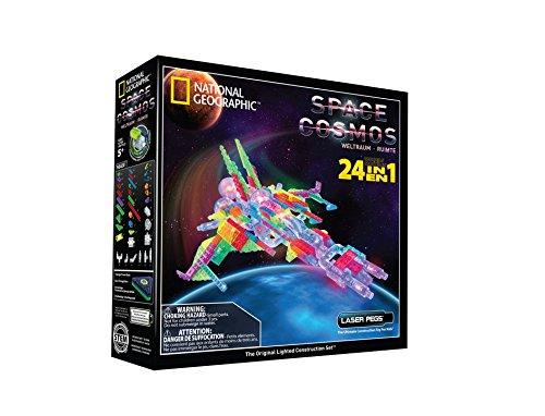 Laser Pegs National Geographic Space Building -