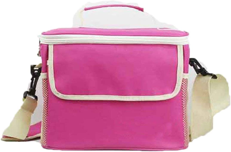 WOSON 6.5L plegable enfriador de camping con aislamiento Cool bolsa reutilizable bolsas de bolsa de la compra Cool cesta caja, Oxford, 6.5L, small