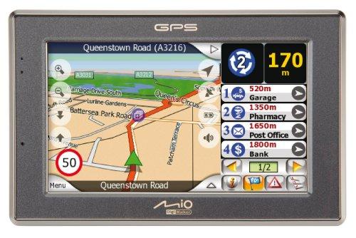 amazon com mio c520 4 3 inch widescreen bluetooth portable gps rh amazon com Mio DigiWalker C220 mio digiwalker c520 instruction manual