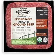 Organic Prairie, Organic Pasture-Raised 85% Lean Ground Beef, 1 Pound