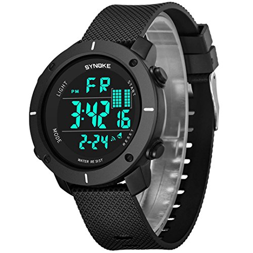 Sports Watches Clearance, Paymenow Unisex Women Men 2018 New Electronic Watches LED Digital Multi-Function 50M Waterproof Calendar Casual Wrist Watches