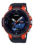 Image of Casio ' Pro Trek' Quartz Stainless Steel and Resin Watch, Color:Black (Model: WSD-F30-RGBAU)