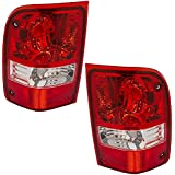 Driver and Passenger Taillights Tail Lamps Replacement for Ford Pickup Truck 6L5Z13405AA 6L5Z13404A