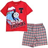 Thomas & Friends Little Boys Toddler Tee and Shorts Set