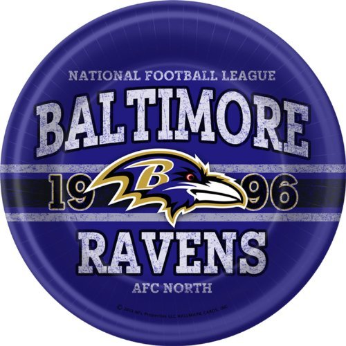 Baltimore Ravens Paper (Baltimore Ravens Dinner Plates)