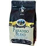 Mystic Monk Coffee: Paradiso Blend Ground Coffee (Medium Roast 100% Arabica Coffee) - 32oz