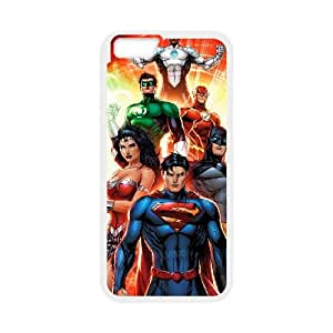 iPhone 6 Plus 5.5 Inch Cell Phone Case Covers White Justice League V09719486