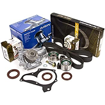 Evergreen TBK125MWPA 91-95 Toyota Celica MR2 Turbo 2.0L DOHC 3SGTE Timing Belt Kit AISIN Water Pump
