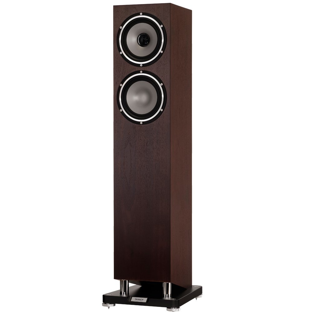 TANNOY Revolution XT 6F Floorstanding Speaker (Dark Walnut, Single Speaker)